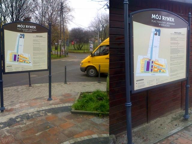 tablice miejskie wieliczka